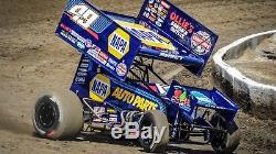 World Of Outlaws Race Used Napa 1/2 Fuel Tank #49 Brad Sweet Kasey Kahne Racing