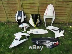 Yamaha R1 Track Race Fairing And Fuel Tank 5jj Yzf 1000 2000 2001