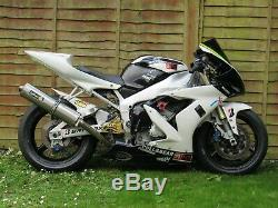 Yamaha R1 Track Race Fairing And Fuel Tank 5jj Yzf 1000 2000 2001