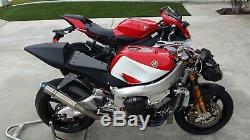 Yamaha R7 OEM fuel tank pump, YZF-R7 OW02 WSBK MotoGP BSB race R71 R1 TZ Harris