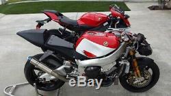 Yamaha R7 YZFR7 OEM fuel petrol tank, OW02 Superbike race WSBK R71 750 Harris