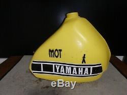 Yamaha Yz465 Clarke Oversize Desert Race Gas Fuel Tank Ahrma 1980 1981 Trail