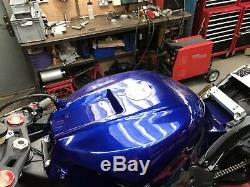 Zx10r Gen4 Gen5 Petrol Fuel Tank BSB Superbike Aluminium 2011-2019 Race Track